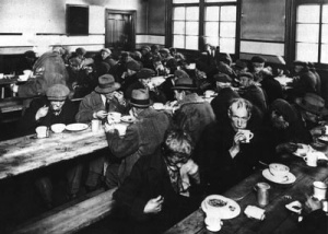 Image of Montreal soup kitchen , 1931