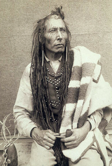 Chief Poundmaker, 1885