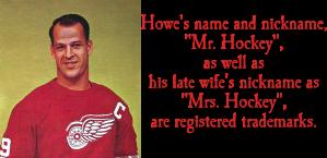 Gordie Howe Trading Card
