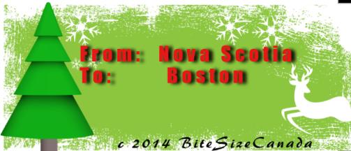 Christmas Tree for Boston from Nova Scotia.
