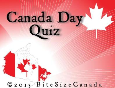 Graphic for Canada Day 2015 Quiz