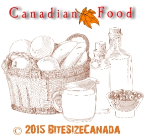Canadian Food Graphic
