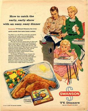TV Dinner advertisement