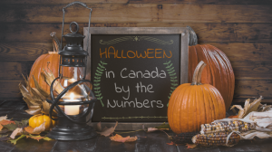 Halloween in Canada by the numbers